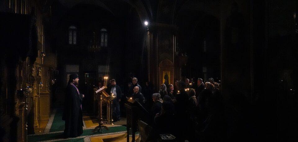 ФОТОАЛЬБОМ: Чтение покаянного канона Андрея Критского на подворье