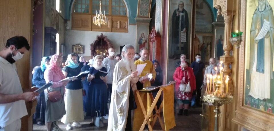 На Московском подворье молитвенно почтили память прп. Германа Аляскинского – небесного покровителя Миссионерского братсва