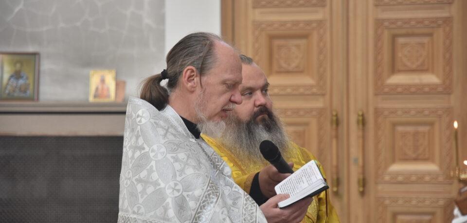 Иеродиакон Савва (Зозуля) рукоположен во иеромонаха