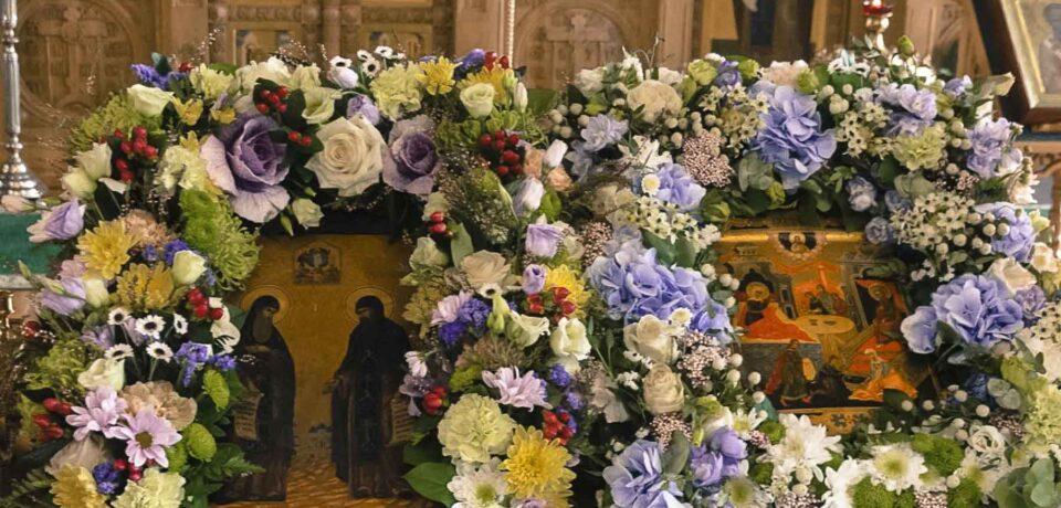 ФОТОАЛЬБОМ: Празднование перенесения мощей прпп. Сергия и Германа